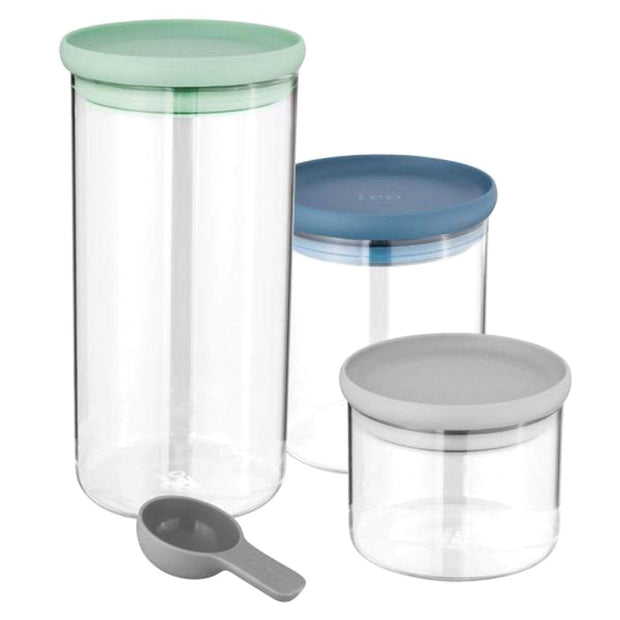 BergHoff Leo 3 Piece Food Container Set - Multicolour - 3950125