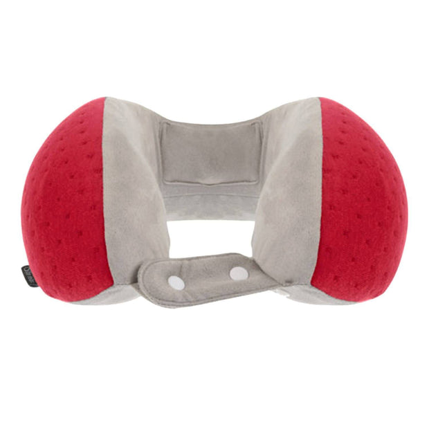 Be Relax My Memory Foam Wellness Neck Pillow - Velvet Red - 1001300058 - Jashanmal Home