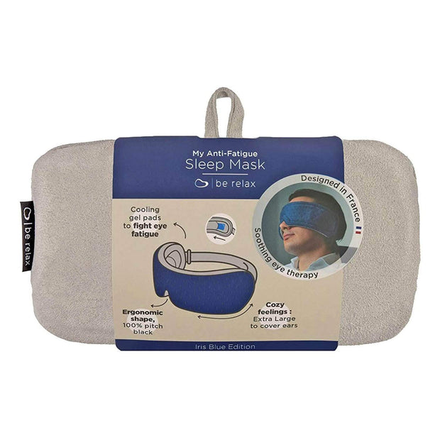 Be Relax My Anti Fatigue Sleep Mask - Iris Blue - 1001300046 - Jashanmal Home