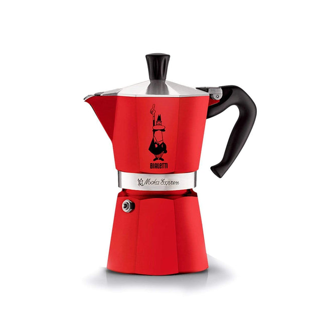 Bialetti Moka Express Coffee Maker - Red - 4941 - Jashanmal Home