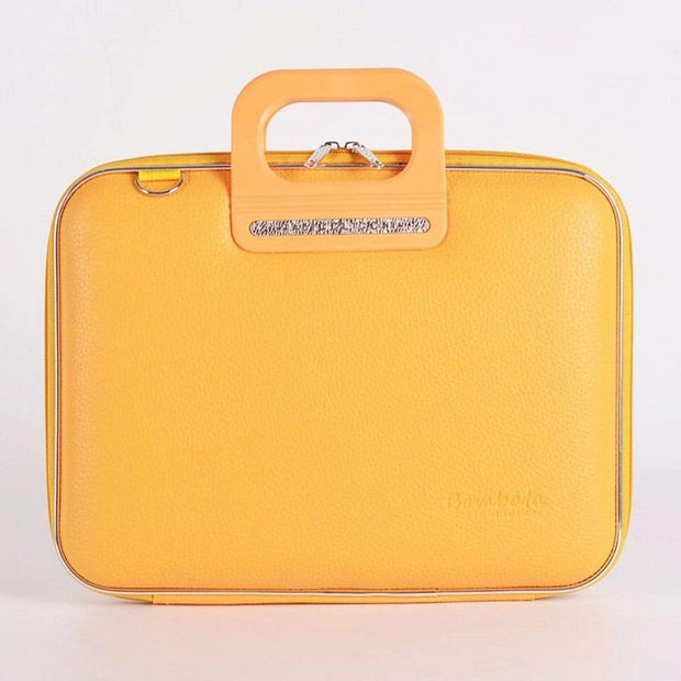 Bombata Firenze Classic Briefcase for 13 Inch Laptop - Yellow - FG0113 6