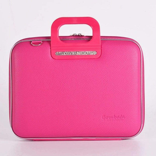 Bombata Firenze Classic Briefcase for 13 Inch Laptop - Pink - FG0113 9 - Jashanmal Home