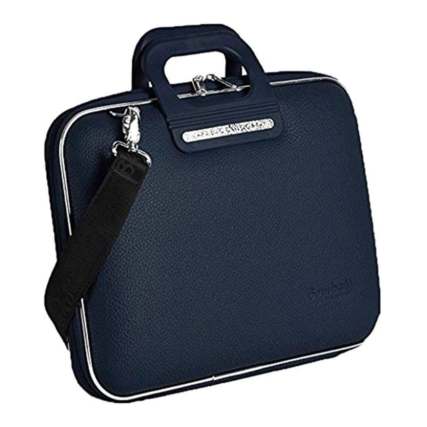 Bombata Firenze Classic Briefcase for 13 Inch Laptop - Navy - FG0113 11 - Jashanmal Home