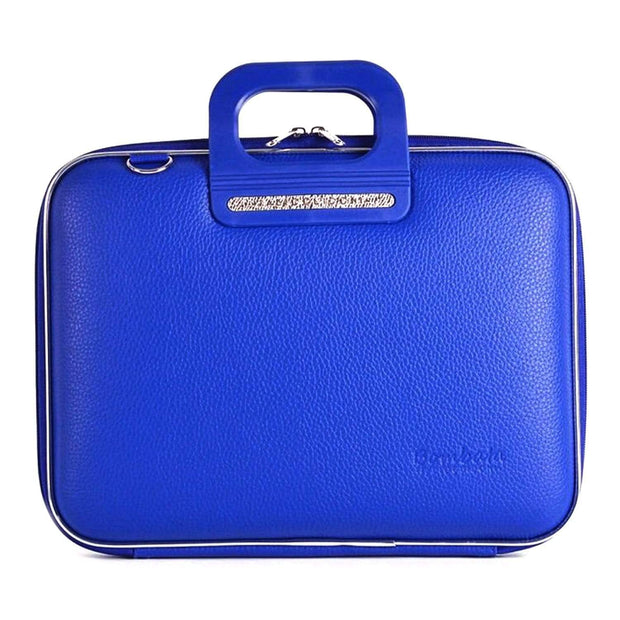Bombata Firenze Classic Briefcase for 13 Inch Laptop - Cobalt - FG0113 18 - Jashanmal Home