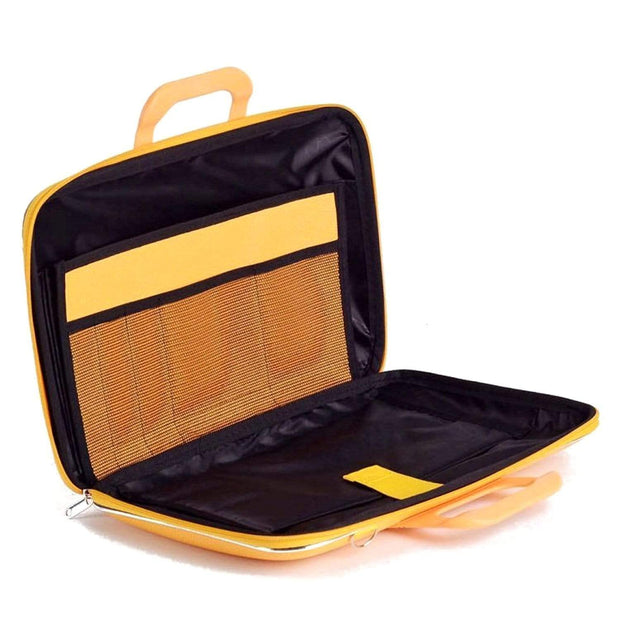 Bombata Firenze Classic Briefcase for 15.6 Inch Laptop - Yellow - FG0115 6