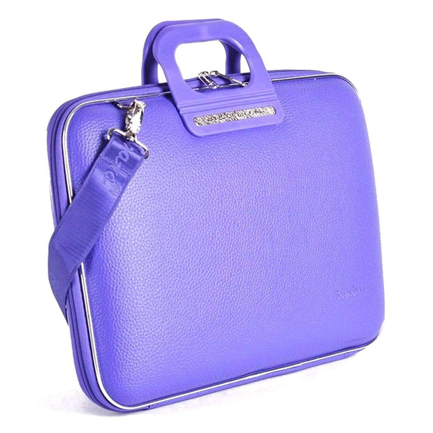 Bombata Firenze Classic Briefcase for 15.6 Inch Laptop - Violet - FG0115 10