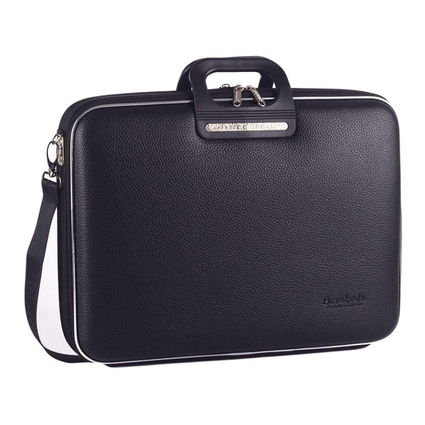 Bombata Brera Overnight Briefcase for 15.6 Inch Laptop - Black - FG0215 4