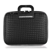 Bombata Murano Intrecciato Briefcase for 13 Inch Laptop - Black - FG0513 4 - Jashanmal Home