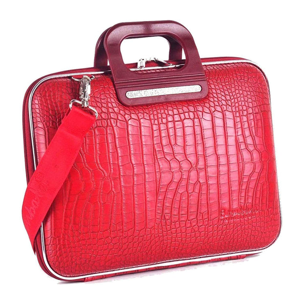 Bombata Siena Cocco Briefcase for 15 Inch Laptop - Red - FG1115 5 - Jashanmal Home