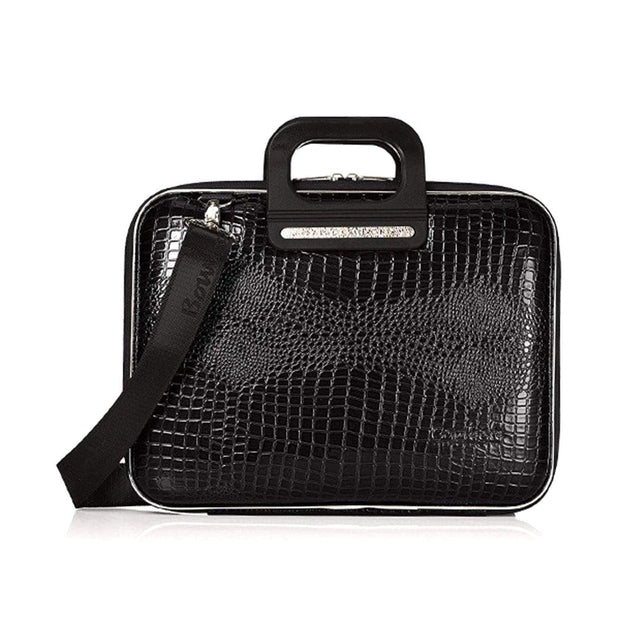 Bombata Sorrento Cocco Briefcase for 15.6 Inch Laptop - Shining Black - FG3015 4 - Jashanmal Home