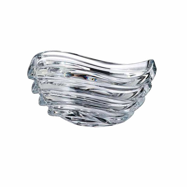 Bohemia Crystal Glass Wave Bowl - 30.5 cm - 5391174 - Jashanmal Home