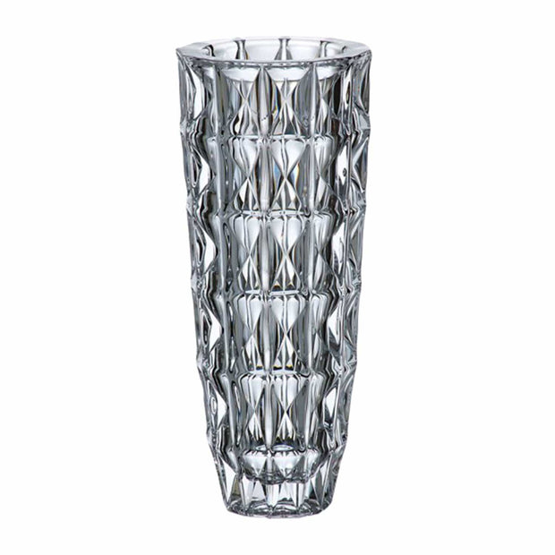 Bohemia Crystal Glass Diamond Vase - 33 cm - 5390858 - Jashanmal Home