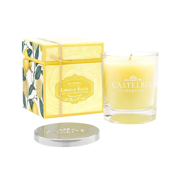 Castelbel Amber Scented Lemon and Sage Candle - C1-0201