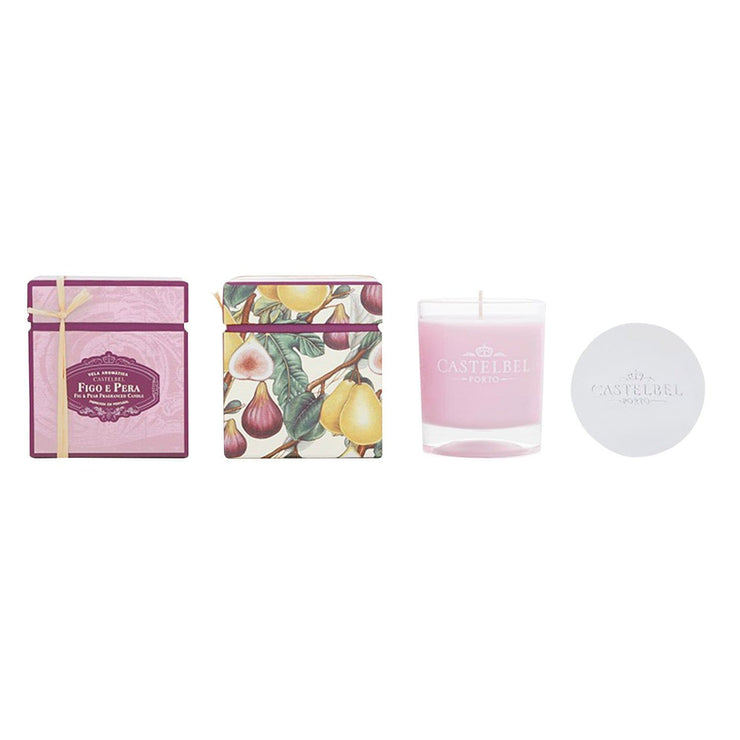 Castelbel Amber Scented Fig and Pear Candle - C1-0301 - Jashanmal Home