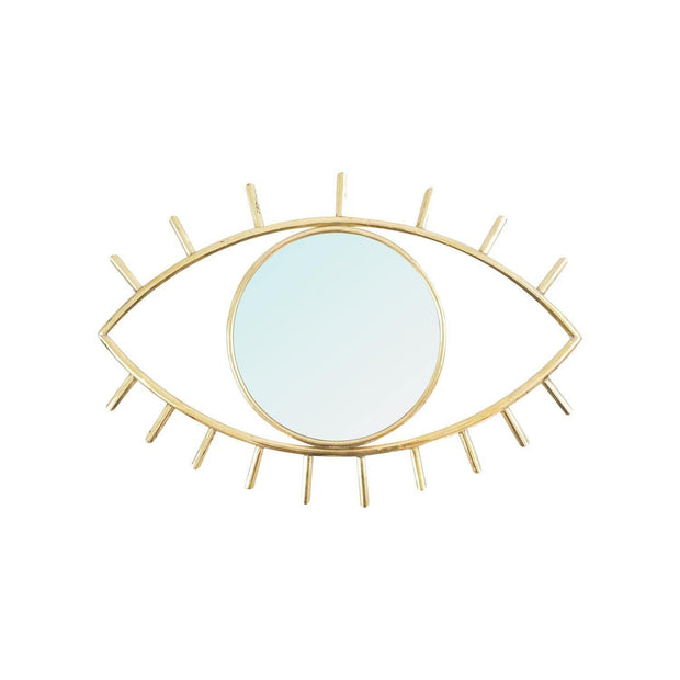 Chabi Chic Eye Maillechort Decorative Mirror - Large - CCM.03.37 - Jashanmal Home