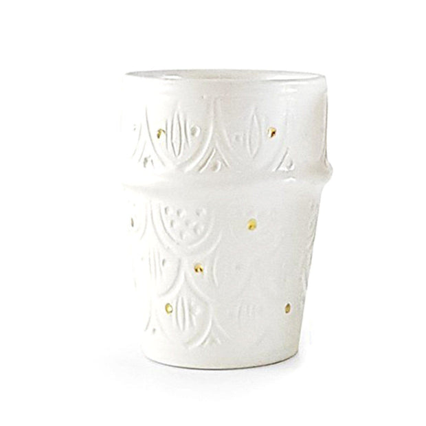 Chabi Chic Beldi Engraved Ceramic Coffee Cup - CCV.04.31G - Jashanmal Home