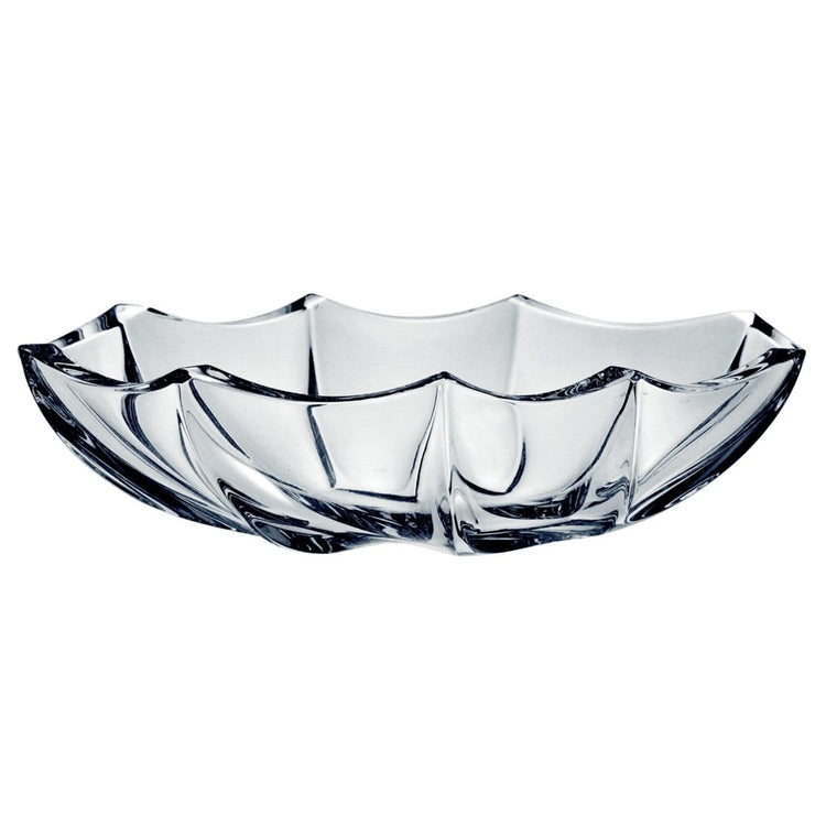 Che Crystal Calypso Oval Bowl - Clear - 84/69K44/0/93K69/390