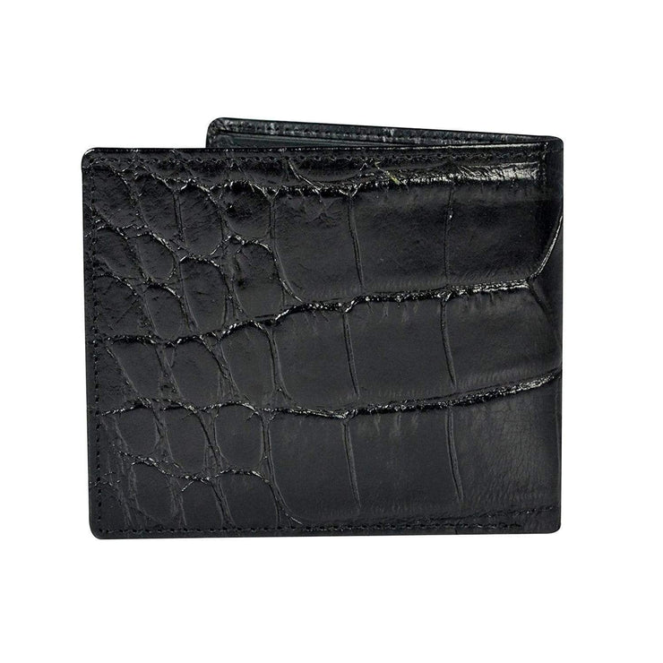 Cross Coco Signature Bifold Coin Leather Wallet for Men  - Black and Red - AC268072-1-3 - Jashanmal Home