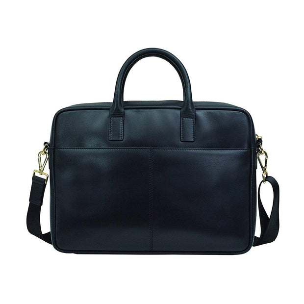A.T. Cross Concordia Men's Briefcase - Black - AC1101271-1-1 - Jashanmal Home