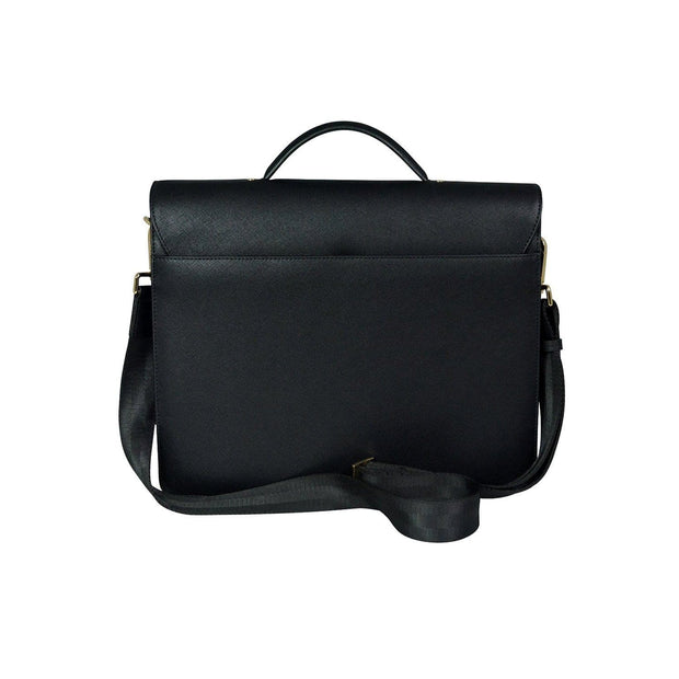 Cross First Class Leather Briefcase for Men  - Black - AC791173-1-1 - Jashanmal Home