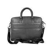 Cross Renovar Slim Leather Briefcase for Men  - Black