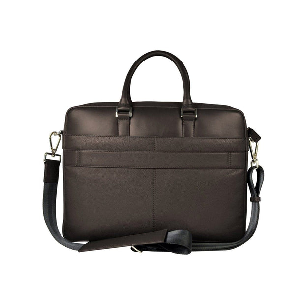 Cross Renovar Weekender Leather Briefcase for Men  - Oak Brown - AC941264-1-3