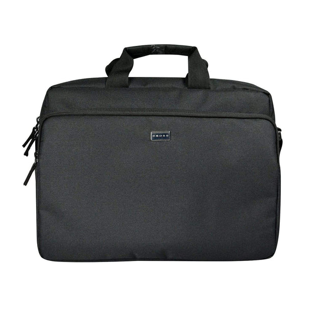 Cross Leather Lite Value Briefcase for Men Nylon - Black - ACO040013-1-1