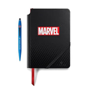 Cross Tech2 Marvel Captain America Ball Point Pen with Stylus and Journal Gift Set - Black and Blue - AT0652SD-10/1 - Jashanmal Home