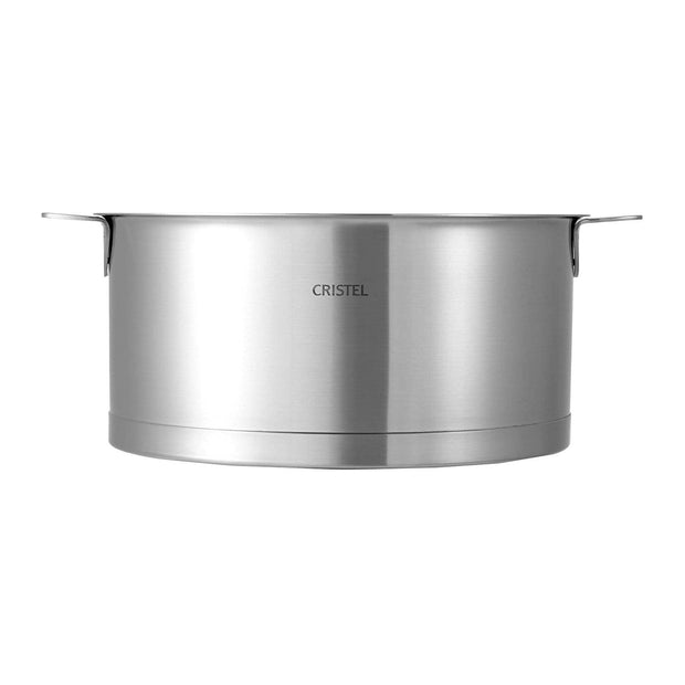 Cristel Strate Removable Saucepan - Silver, 22 cm - F22QL - Jashanmal Home