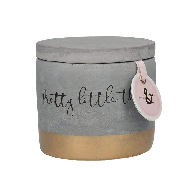 Creative Tops Ava and I Concrete Trinket Pot - 5213690
