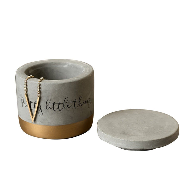 Creative Tops Ava and I Concrete Trinket Pot - 5213690 - Jashanmal Home