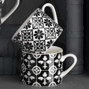 Creative Tops Victoria and Albert Encaustic Tile Espresso Mug - Set of 4 - 5174576 - Jashanmal Home