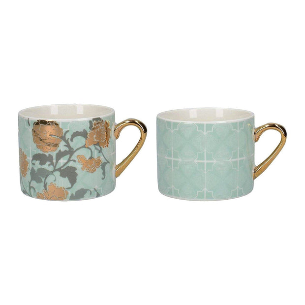 Creative Tops Victoria and Albert Decadence Espresso Mug - 150 ml, Set of 2 - 5227089 - Jashanmal Home