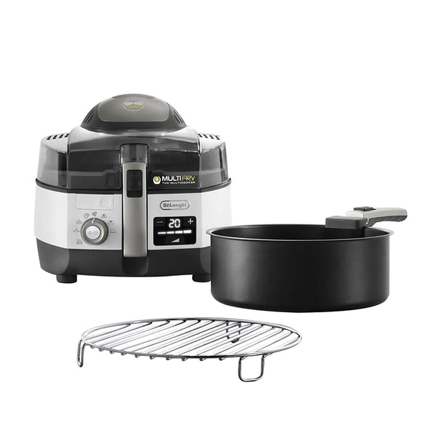 De'Longhi Extra Chef Multi Fry - White and Black - FH1396/1 - Jashanmal Home