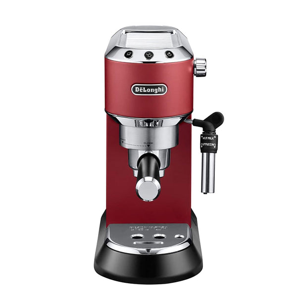 De'Longhi Dedica Style Espresso Pump Coffee Machine - Red - EC685.R - Jashanmal Home