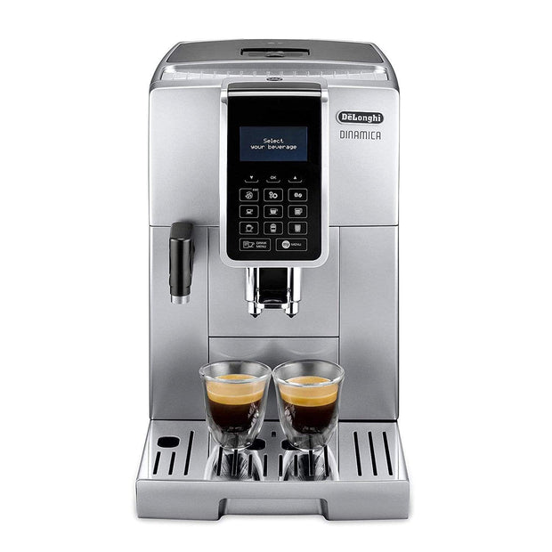 De'Longhi Fully Automatic Coffee Machine - Silver - ECAM350.75.S - Jashanmal Home