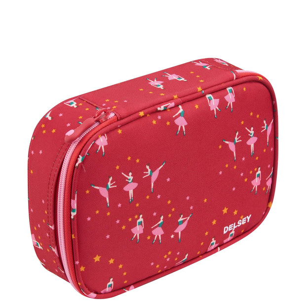 DELSEY SCHOOL 2019 LARGE PENCIL BOX BALLERINA 00339317519 PINK