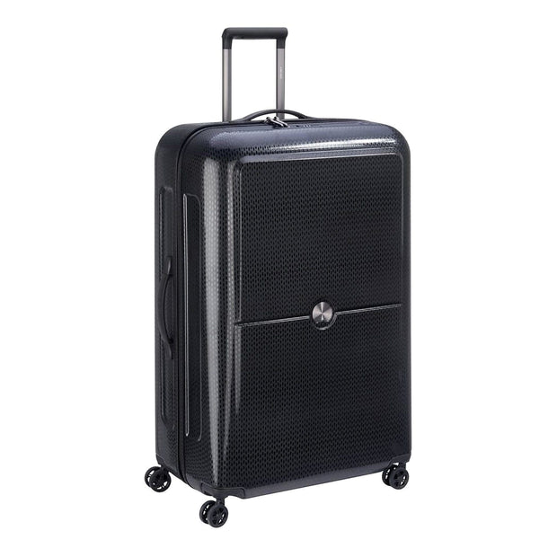 Delsey Turenne 4 Double Wheel Cabin Trolley Case - Black - 00162183000 BLACK - Jashanmal Home