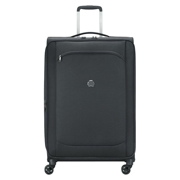 Delsey Montmartre Air 2.0 4 Double Wheel Expandable Trolley Bag - Black, 68 cm - 00235281000 BLACK - Jashanmal Home