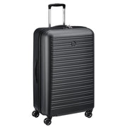 Delsey Segur 2.0 4 Double Wheel Trolley Bag - Black, 78 cm - 00205882100 BLACK - Jashanmal Home