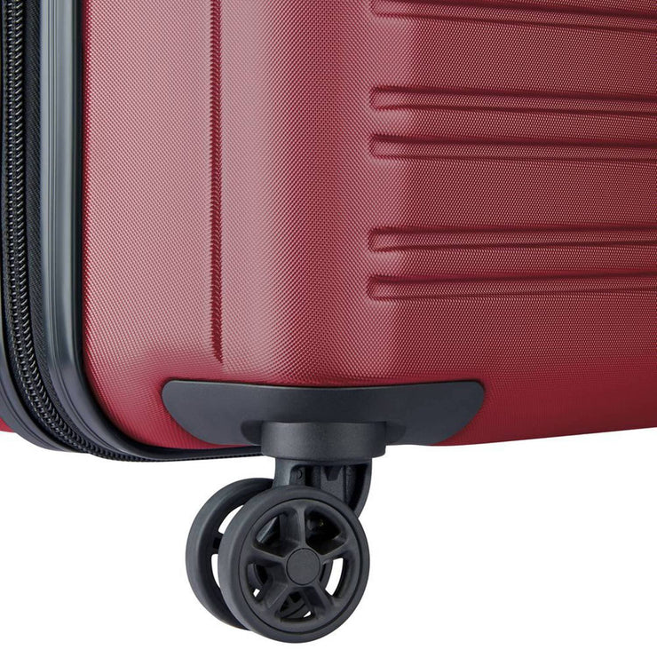 Delsey Segur 2.0 4 Double Wheel Trolley Bag - Red, 81 cm - 00205883004 RED - Jashanmal Home