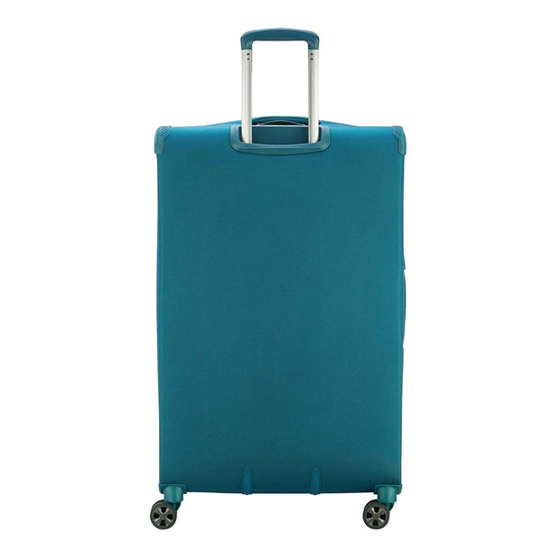 Delsey Hyperglide Expandable Cabin Trolley Bag - Blue, 58 cm - 00229180532T9 TEAL - Jashanmal Home