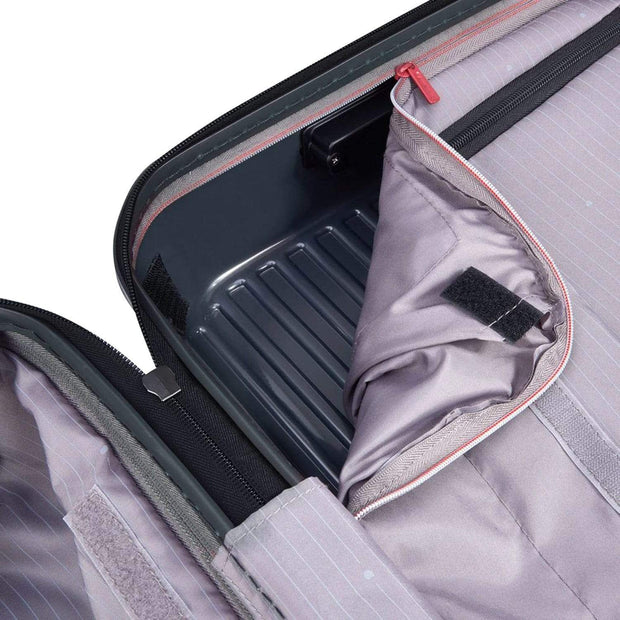 Delsey Securitime Expandable Cabin Trolley Bag - Grey, 55 cm - 00217380101 ANT - Jashanmal Home