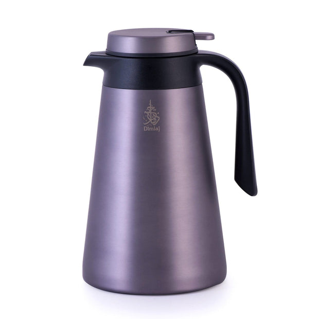 Dimlaj Vacuum Flask - 1.5 Litre, Sunset Grey  - 20688 - Jashanmal Home