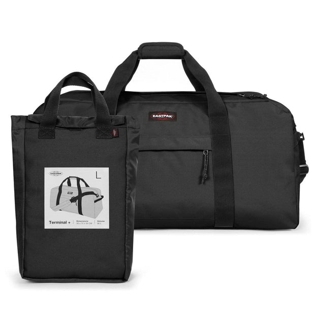 Eastpak Terminal Duffel Bag - Black - EK80D008 - Jashanmal Home