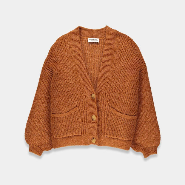 Essentiel Try Ribbed Knitted Cardigan - GB04-S