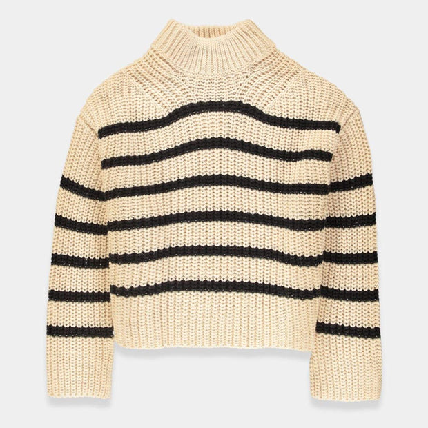 Essentiel Tigroo Knitted Sweater - Off-White - T1OW-S