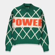 Essentiel Tigroo Knitted Sweater - Green - T1BF-S