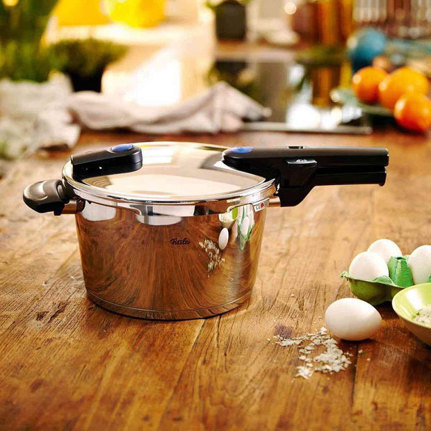 Fissler Vitaquick Pressure Cooker without Insert - 10 Litres - 600-700-10-000/0 - Jashanmal Home