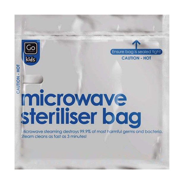 Go Travel Micro Wave Sterilising Bags - 10 Piece - 2630